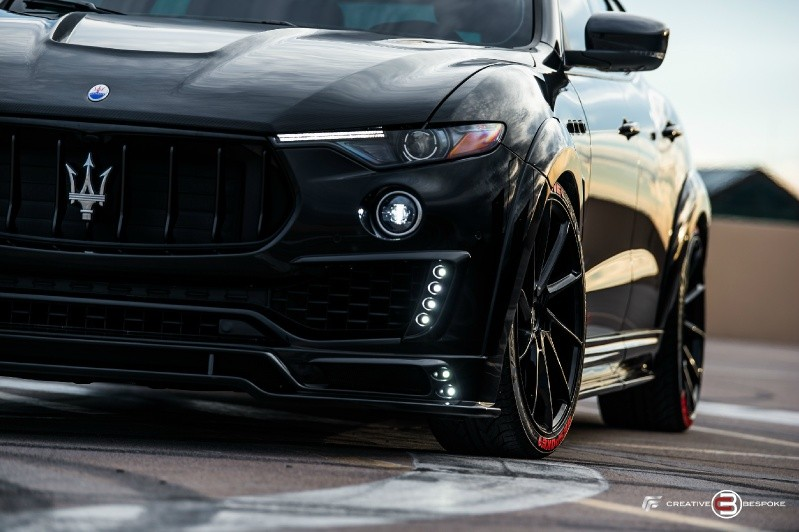 Maserati Levante Wide Body Zero design edition 2017 price $89,800