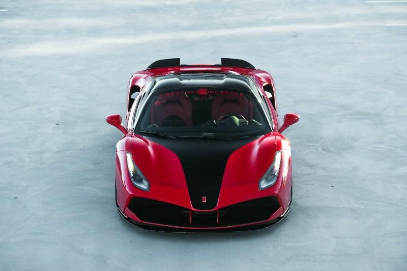 Ferrari 488 Spider SVR CARBON EDITIONM 2018 price $399,500