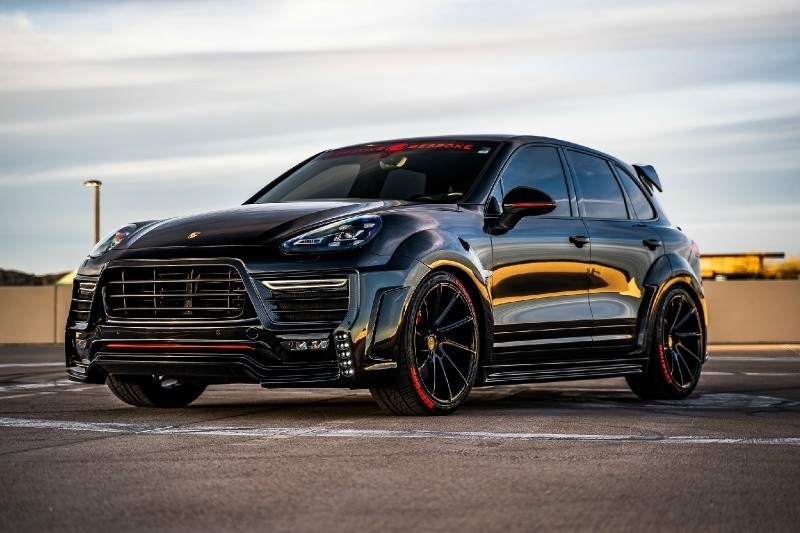 Porsche Cayenne Turbo ZERO DESIGN widebody 2018 price $125,500