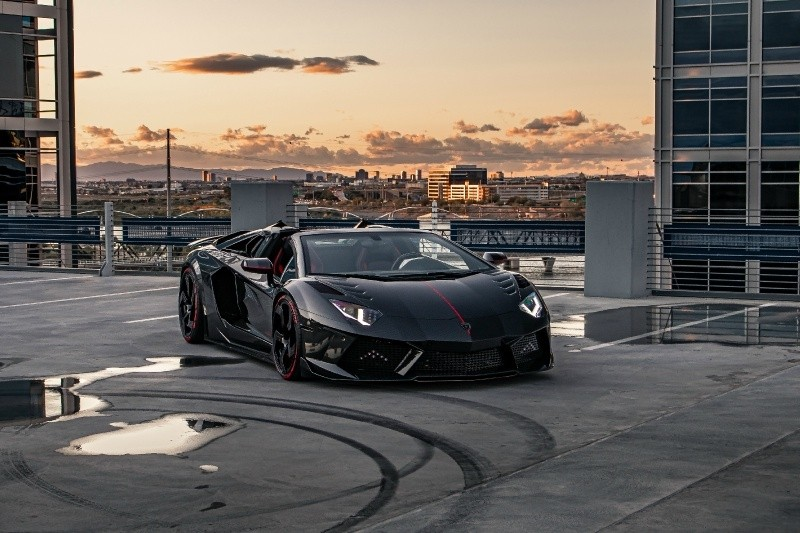 Lamborghini Aventador MANSORY CARBONADO 1 OF 3 2018 price $789,500