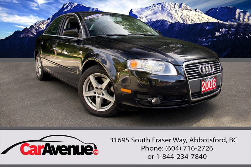 2006 Audi A4 Turbo -- NO ACCIDENTS! LOCAL!
