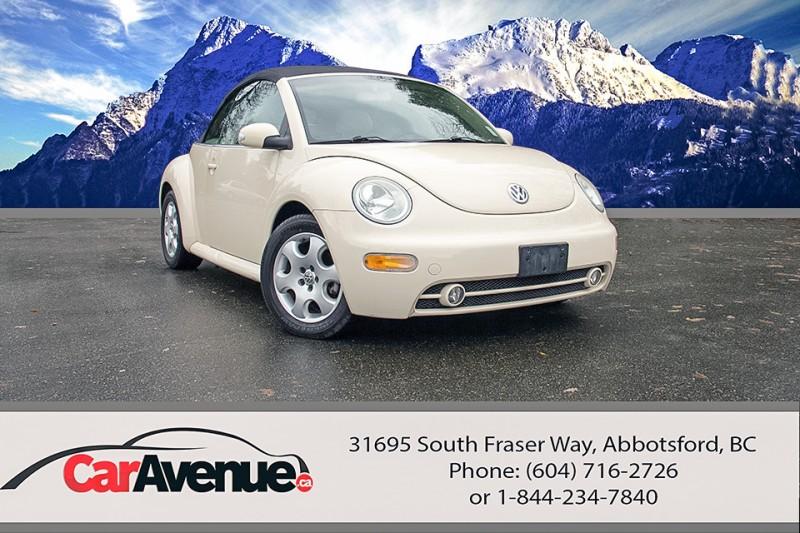 2003 Volkswagen Beetle GLS Convertible -- LOW KMS!
