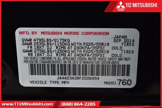 Mitsubishi Outlander 2015 price $21,995