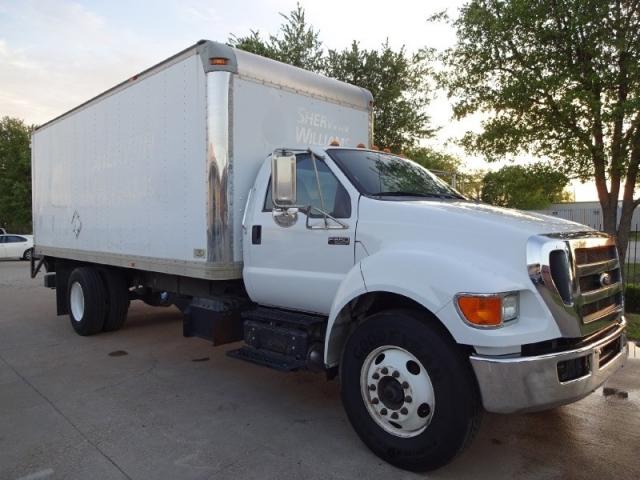 2011 Ford F650 Box Truck