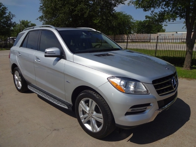 2012 Mercedes-Benz ML350 4MATIC BlueTEC Diesel