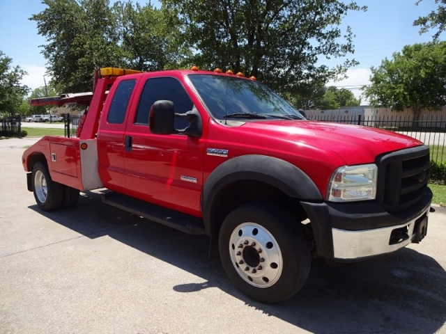 2007 Ford F450 XLT Ext Cab Tow Truck