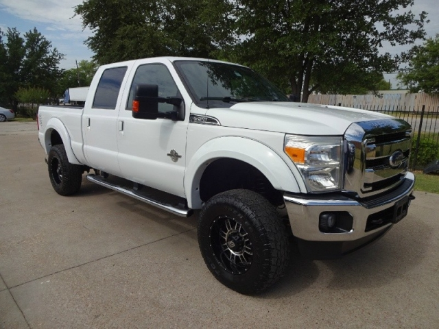 2011 Ford F350 Lariat Diesel 4WD Loaded