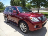 Lexus LX570 NAV TV/DVD Loaded 2011