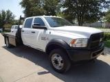 RAM 4500 Tradesman DRW Flat Bed Diesel 6.7L 2014