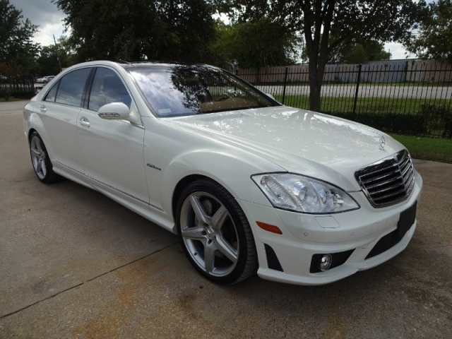2008 Mercedes-Benz S63 AMG Panoramic Navigation