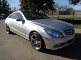 Mercedes-Benz E350 Coupe Sport Pkg Panoramic 2011