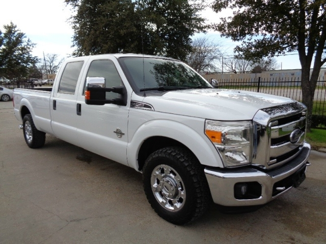 2013 Ford F250 XLT Crew Long Diesel 2WD