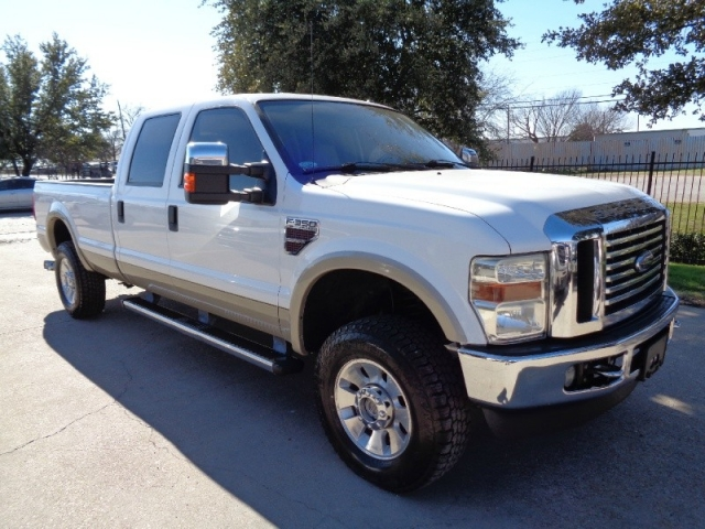 2009 Ford F350 Lariat Crew Long Diesel 4WD