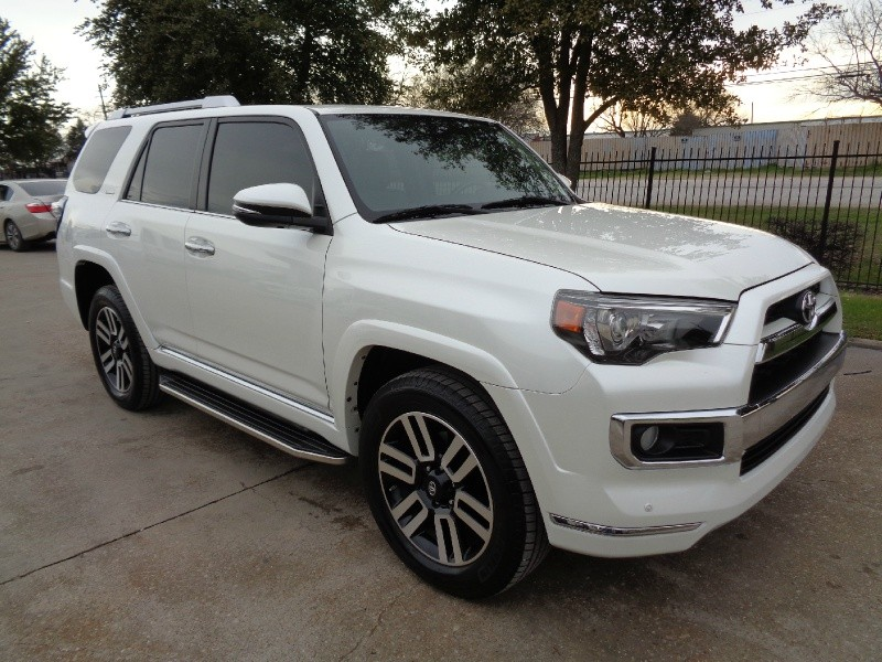 Toyota 4Runner Limited 4WD 2014 price $26,995