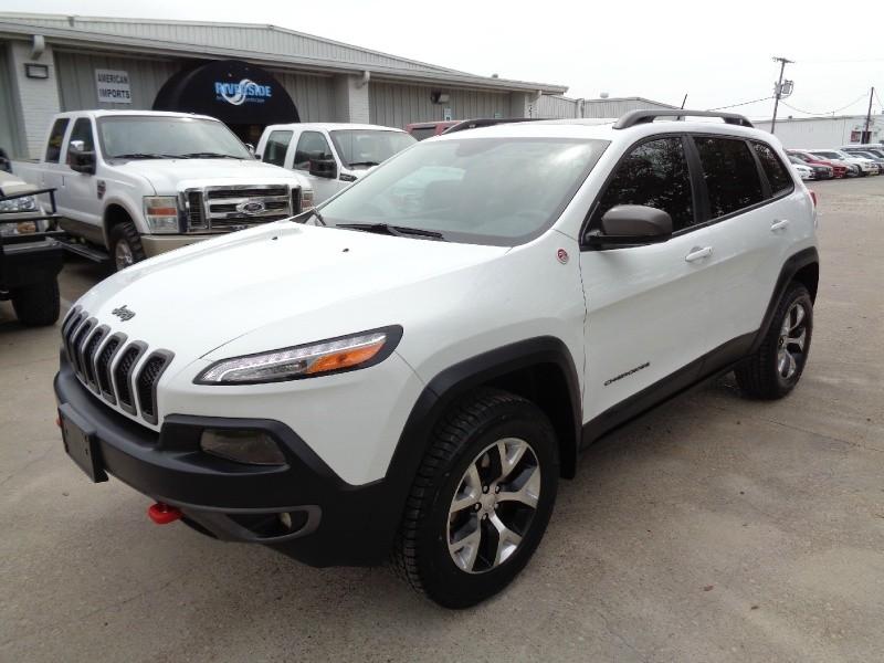 Jeep Cherokee Trailhawk 4WD 2015 price $14,995