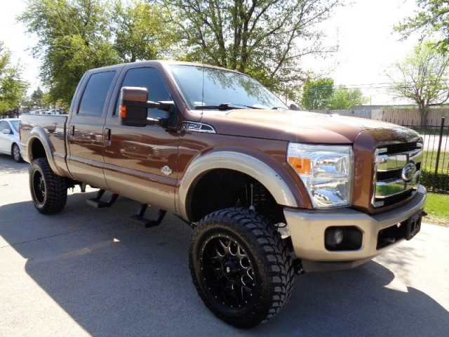 2011 Ford F-250 King Ranch FX4 Crew Diesel 4WD