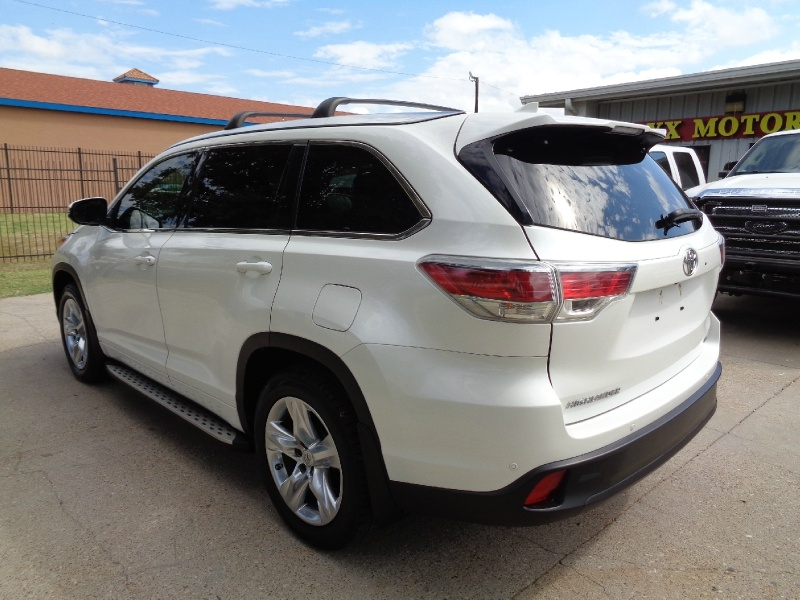 Toyota Highlander Limited Navigation 2015 price $19,995