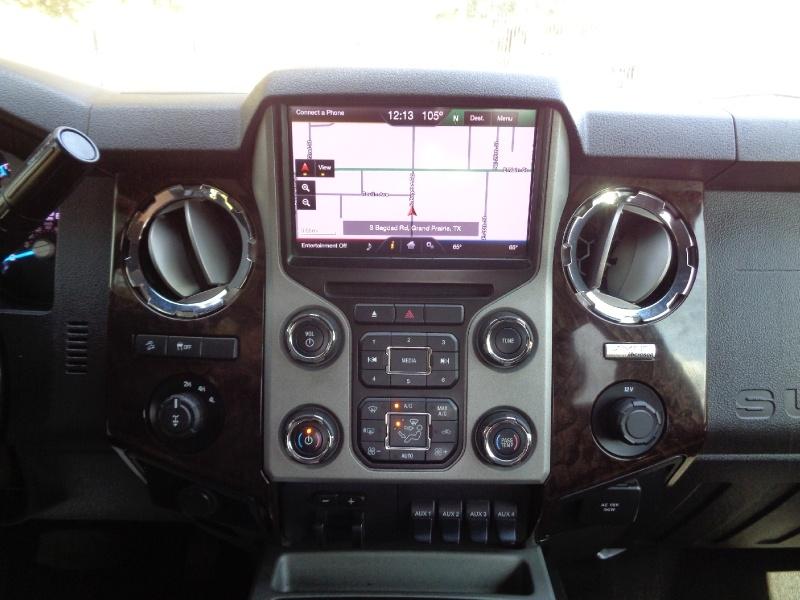 Ford F250 Platinum Crew Diesel 4WD 2013 price $29,995