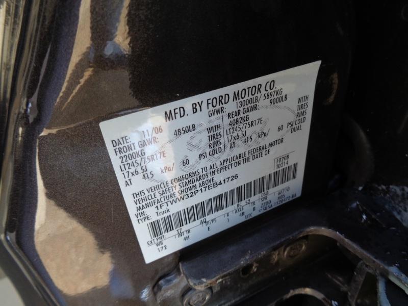 Ford F350 Lariat DRW Diesel 2WD 2007 price $14,995