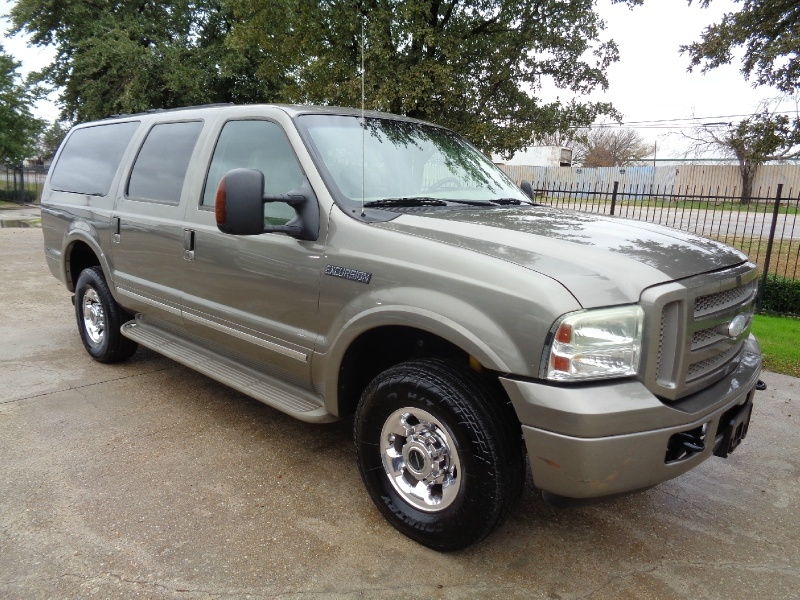 Ford Excursion Limited Diesel 4WD 2005 price $14,495