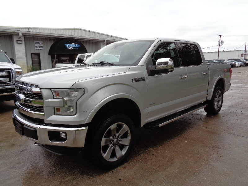 Ford F150 Lariat SuperCrew 3.5L 4WD 2015 price $22,995