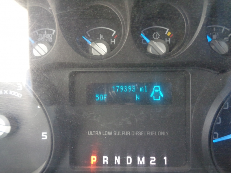 Ford F350 XLT SRW Diesel 4WD 2011 price $15,995