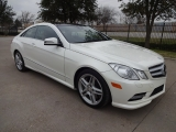 Mercedes-Benz E550 Coupe 2013