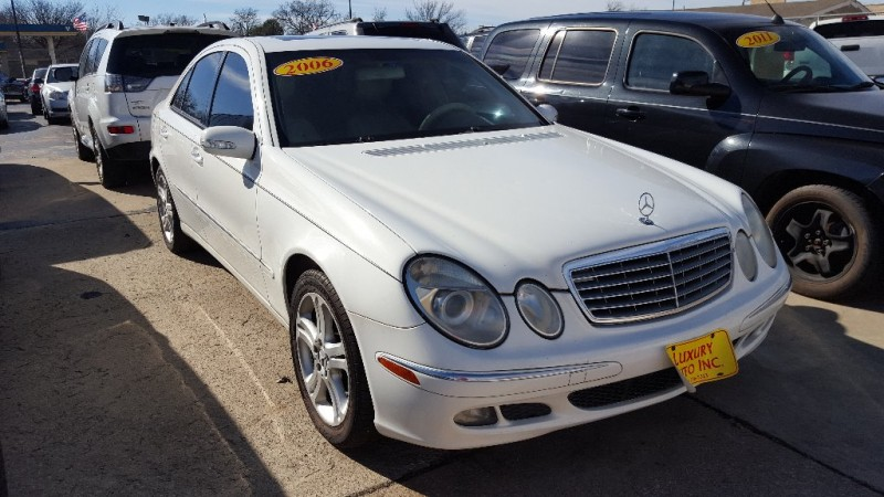 2006 mercedes benz e class 4dr sdn 3 5l inventory for Fort worth mercedes benz dealership
