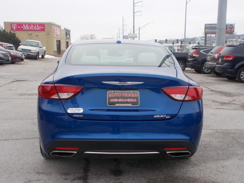 Chrysler 200 2015 price $14,999