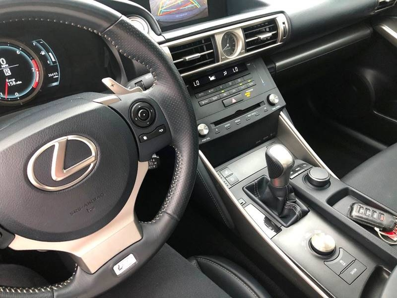 Lexus IS 250 2015 price $24,500
