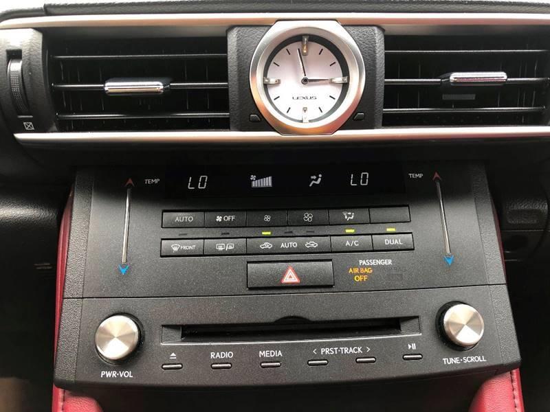 Lexus RC 350 2016 price $30,995