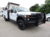 Ford Super Duty F-450 Ext Cab Utility W/ Crane Lift 2009