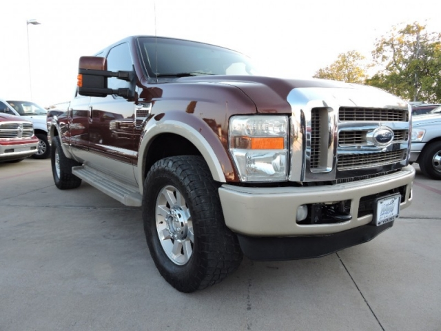 2008 ford super duty f250 srw 4wd crew cab king ranch. Black Bedroom Furniture Sets. Home Design Ideas