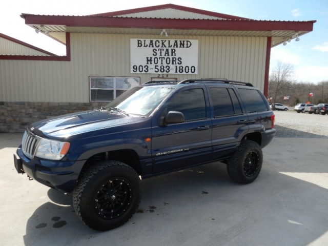 2004 Jeep Grand Cherokee 4dr Limited 4wd Lifted Blackland Star