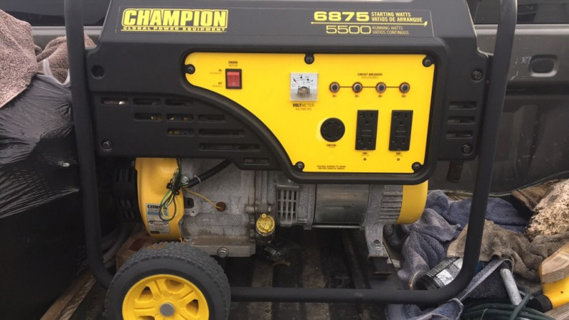 CHAMPION GENERATOR 2017 price Call for Pricing.