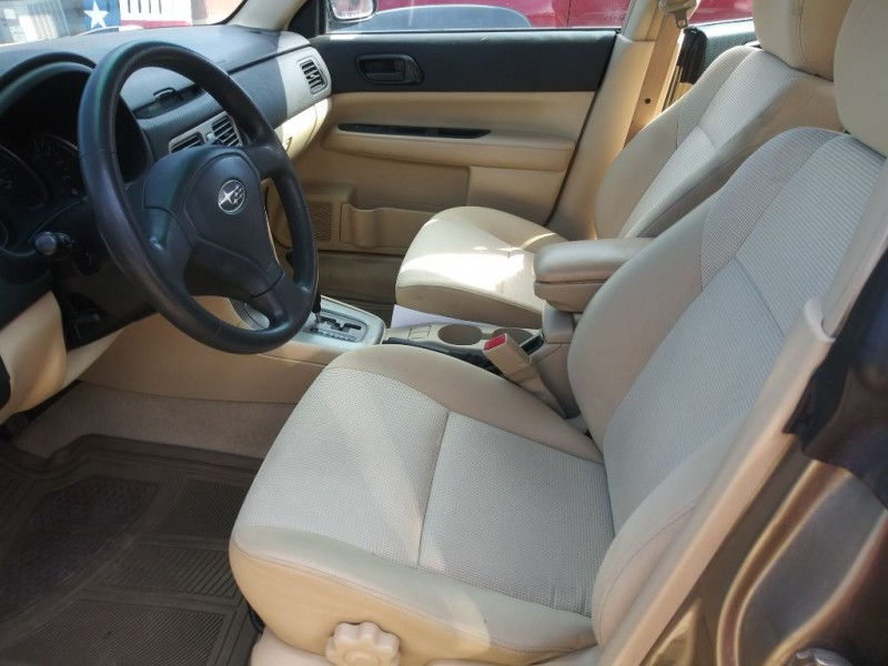 SUBARU FORESTER 2008 price $7,999