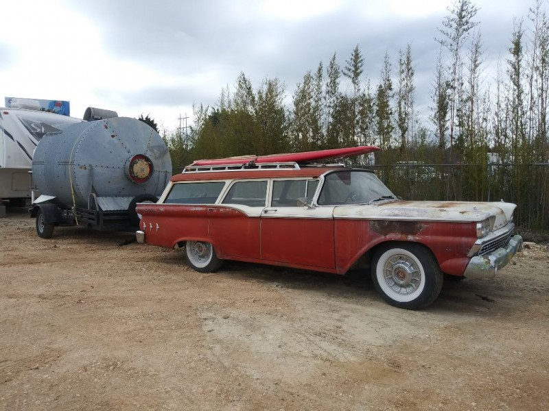 FORD RANCH WAGON 1959 price Call for Pricing.