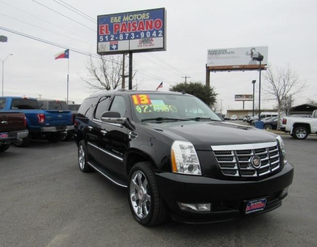 2013 Cadillac Escalade Esv Awd 4dr Luxury Inventory E E Motors