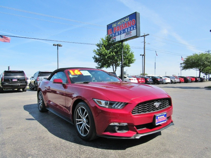 2016 Ford Mustang 2dr Conv EcoBoost Premium - Inventory ...
