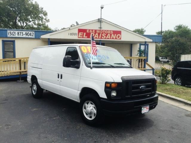 2008 Ford Econoline Cargo Van E 250 Commercial Inventory E E