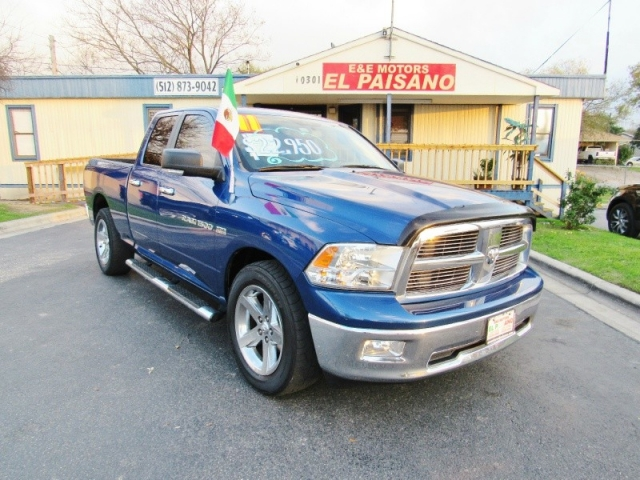 2011 Ram 1500 2wd Quad Cab 140 5 St Inventory E E Motors El