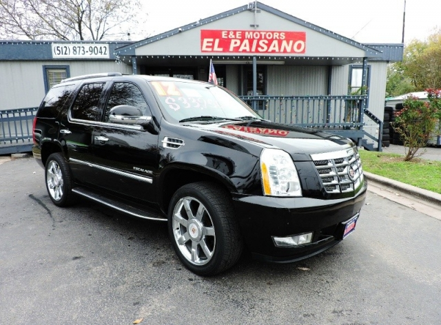 2012 Cadillac Escalade 2wd 4dr Luxury Inventory E E Motors El