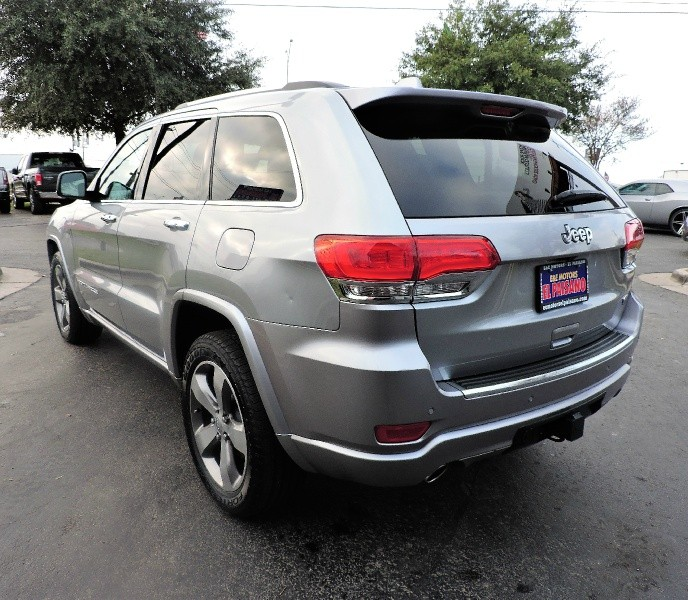 2014 Jeep Grand Cherokee Rwd 4dr Overland Inventory E