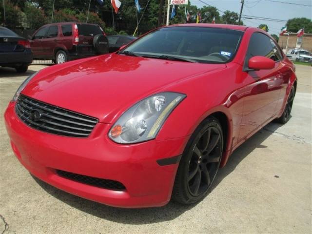 2004 Infiniti G35 Coupe Leather Sunroof Cold Ac Inventory 1st