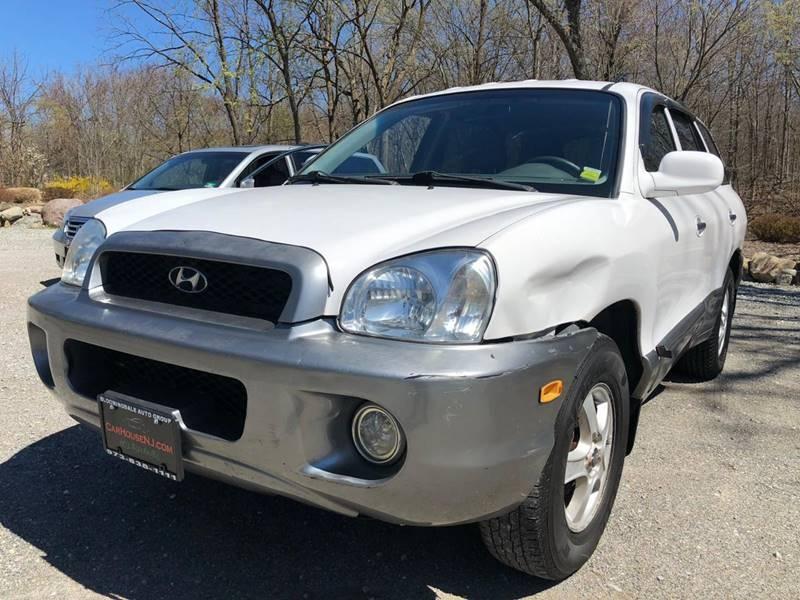 Hyundai Santa Fe 2002 price $1,395