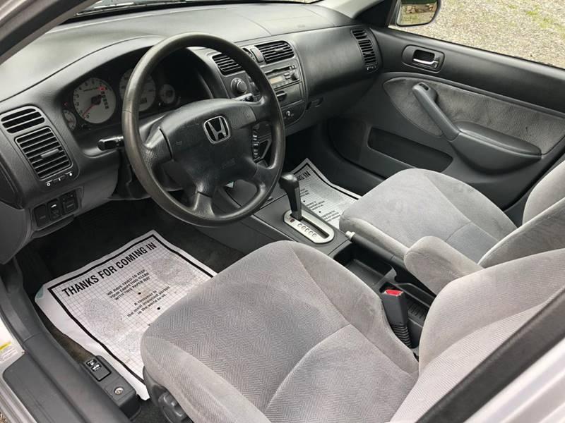 Honda Civic 2002 price $1,495