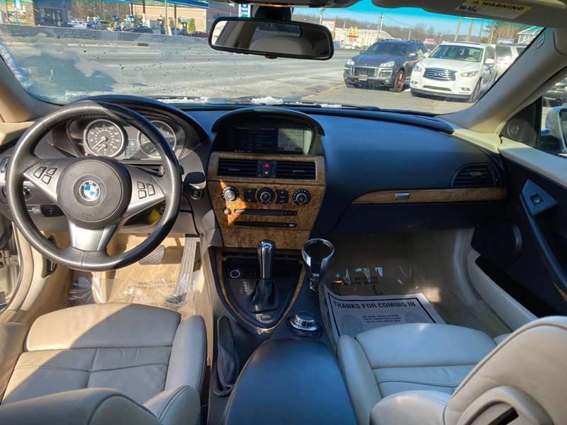 BMW 6 Series 2007 price $7,995