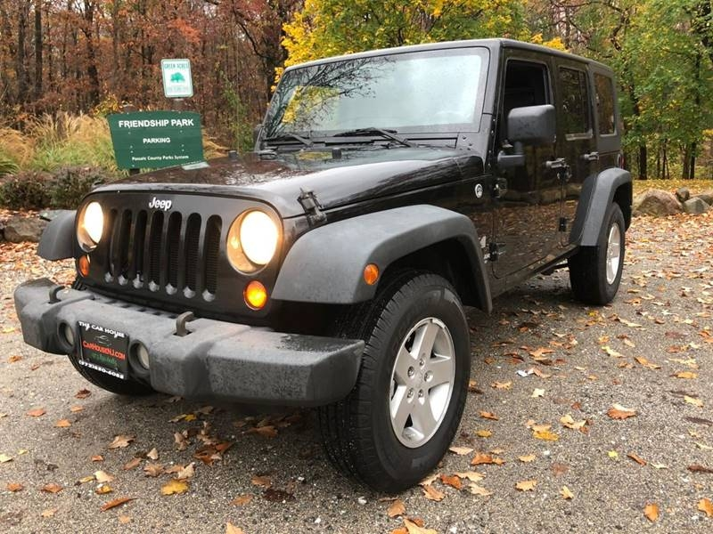 Jeep Wrangler Unlimited 2008 price $10,995