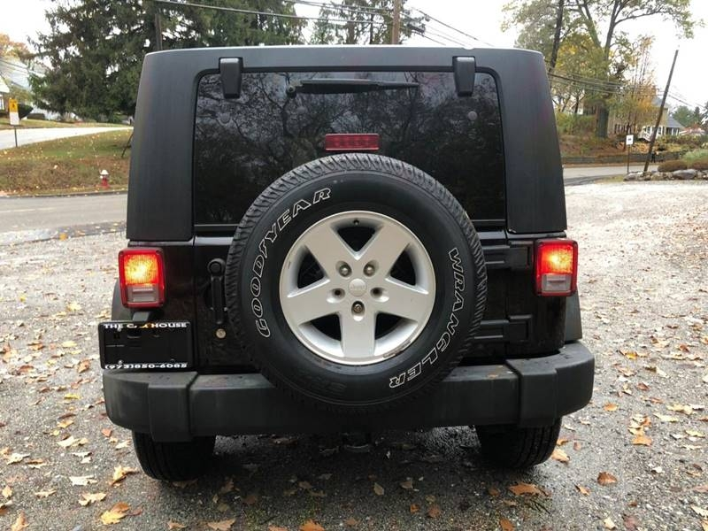 Jeep Wrangler Unlimited 2008 price $10,995