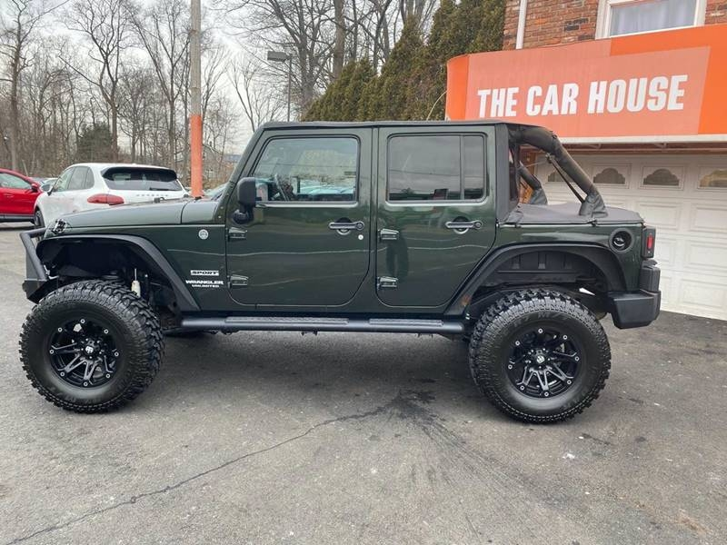 Jeep Wrangler Unlimited 2012 price $18,995